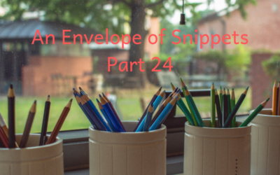 An envelope of snippets part 24