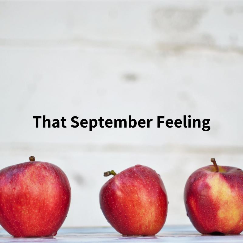 Ideas for enjoying September from inkdrops.co.uk