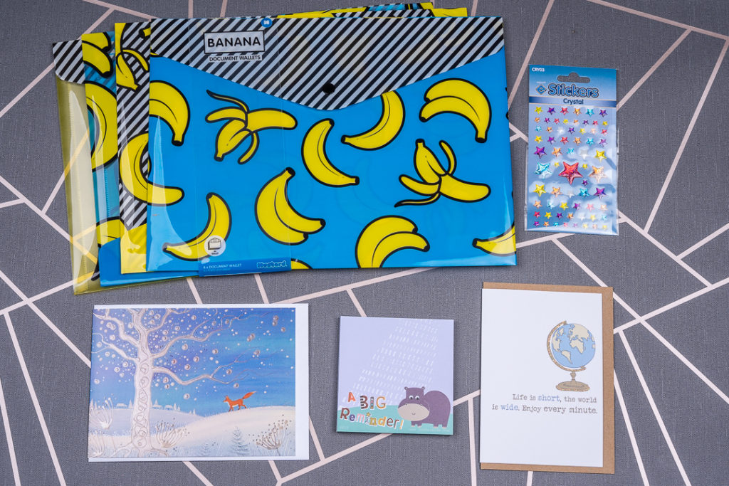Stationery subscription box uk contents November 2019 | inkdrops.co.uk
