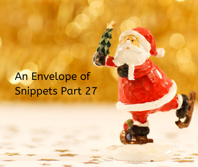 An Envelope of Snippets Part 27