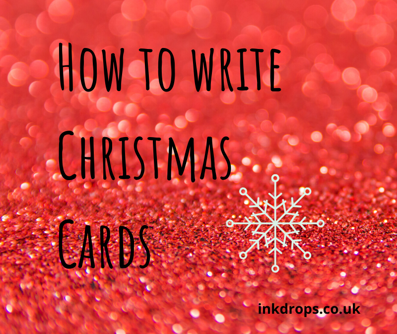 How to write Christmas Cards