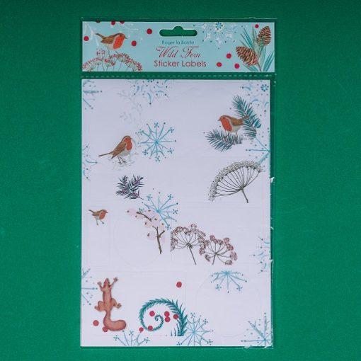 winter stickers - buy from inkdrops.co.uk