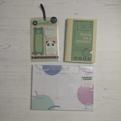 have a happy journey through life - inkdrops.co.uk - stationery through your door