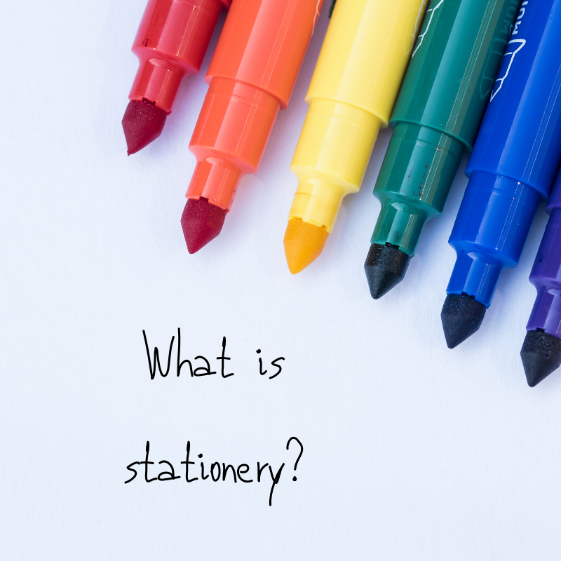 What is stationery? - inkdrops.co.uk - stationery through your letterbox