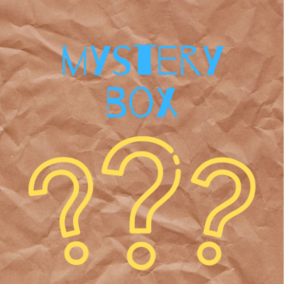 Mystery box of stationery and cards from inkdrops.co.uk