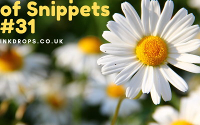 An Envelope of Snippets Part 31