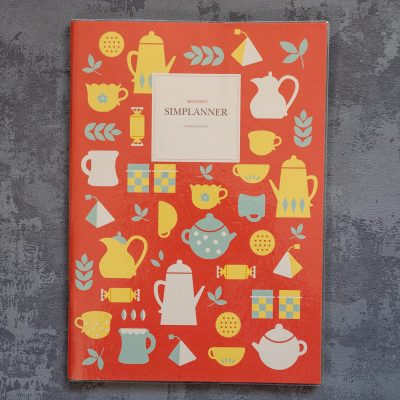 Tea time simplanner Planner - inkdrops.co.uk - stationery makes the world a happier place