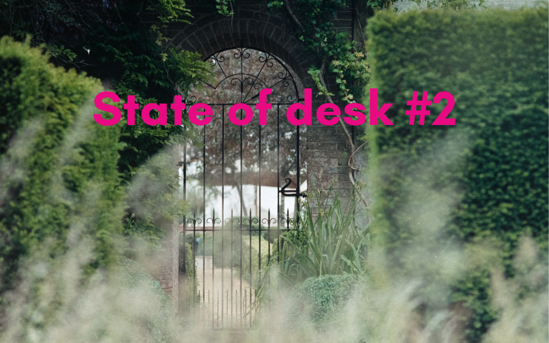 State of desk #2